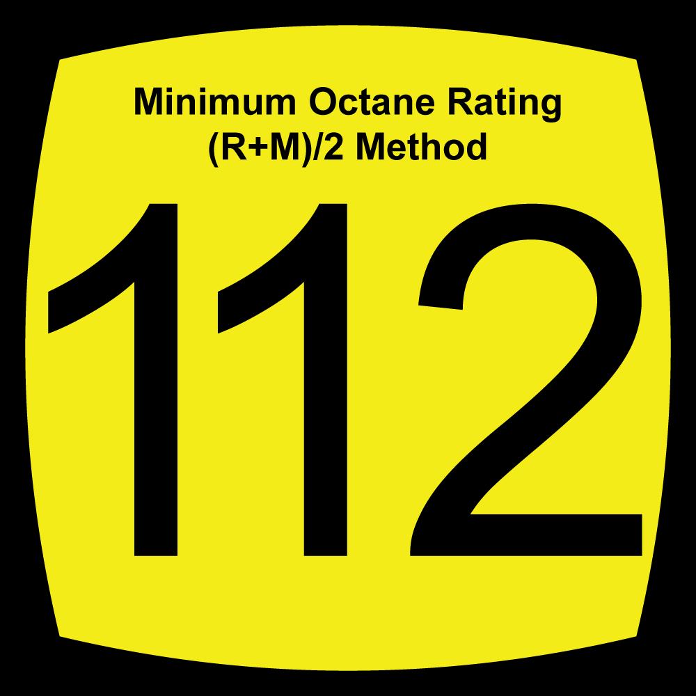112 Octane Fuels