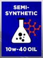 Semi Synthetic SAE 10w-40