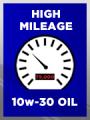 High Mileage SAE 10w-30