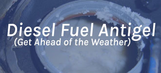 Diesel Antigels (preventative)   Winter Products