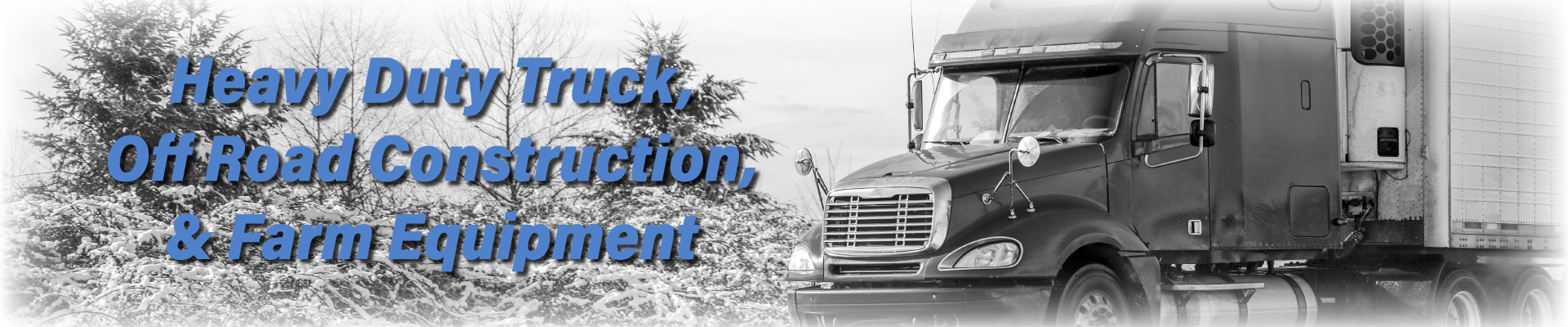 Heavy Duty Equipment | Winter Products