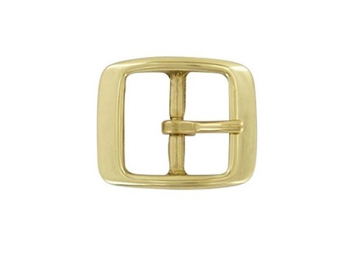 "Solid Brass Buckle 1"" #1337"