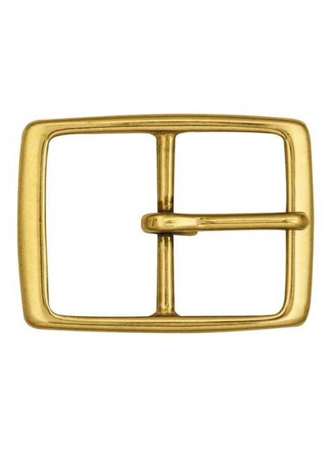 """Solid Brass 1.5"""" Buckle #149"""