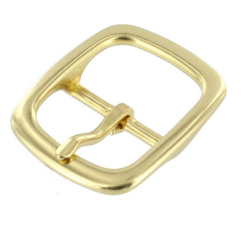 "1-1/4"" Solid Brass Buckle #13820"