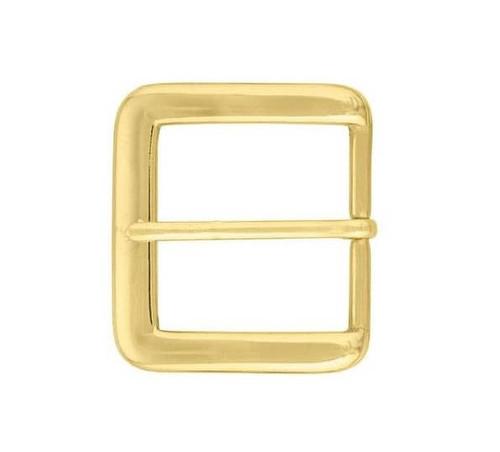 brass buckle, 1-1/2