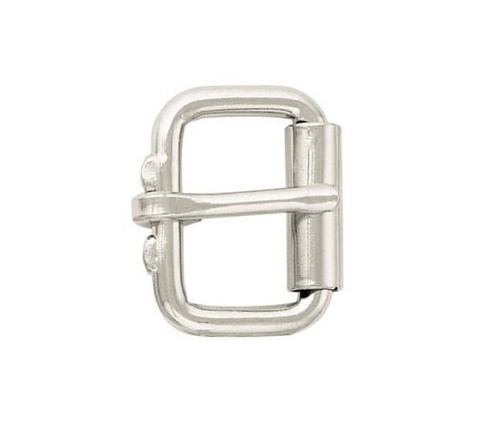 "Buckle Stainless Steel Roller Buckle available in 3/4"" & 1"""