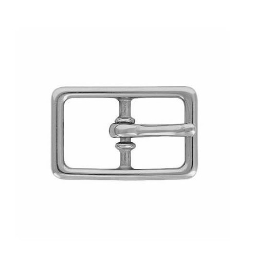 "Nickel Plated Buckle 3/4"" & 1"""