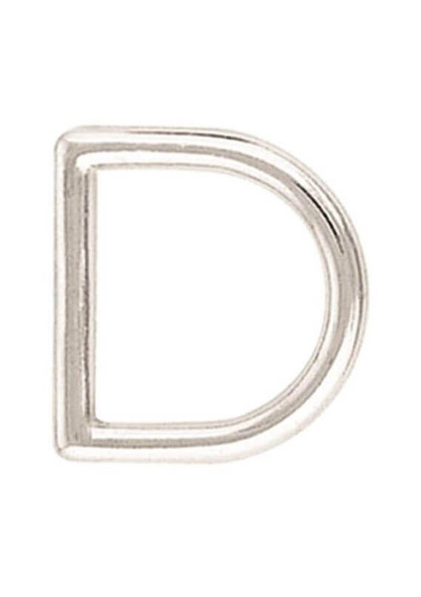 Nickel Plated Dee, D-Ring