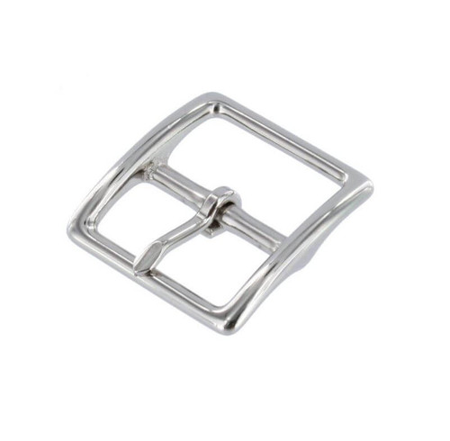 Small Thin Buckle, Nickel Over Brass