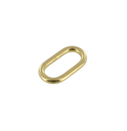 Strap Keeper, Solid Brass