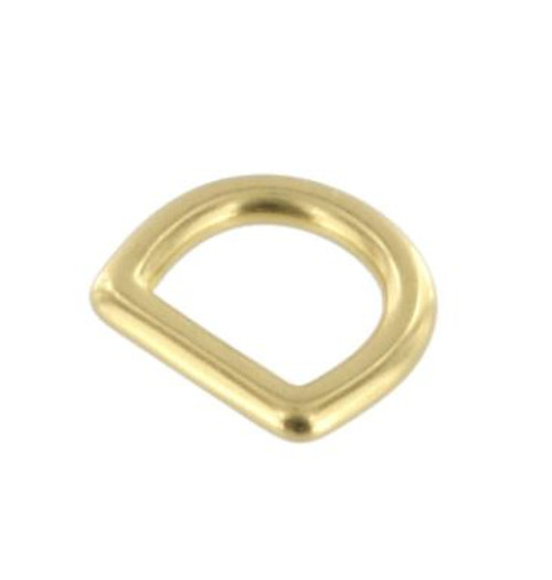 1/2 inch solid brass d ring