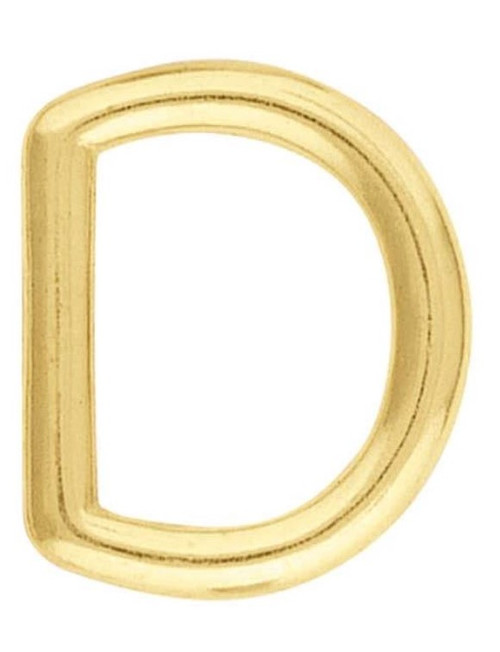 325 Solid Brass D-Rings
