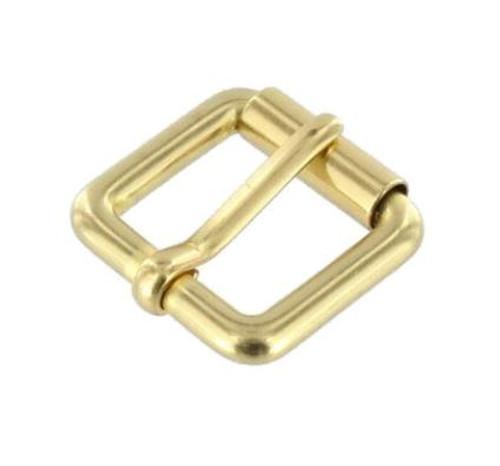 Brass Roller Buckle, Solid Brass
