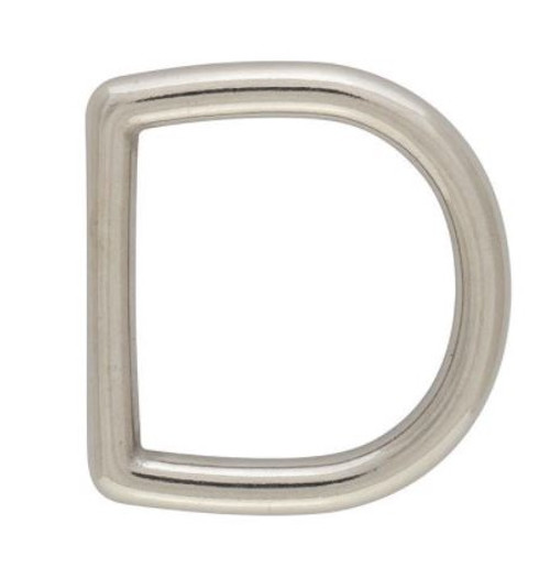 D-Ring, Stainless Dee