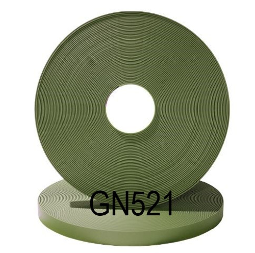 Beta Biothane Olive Drab 100 foot  Super Heavy Roll OD521 Biothane