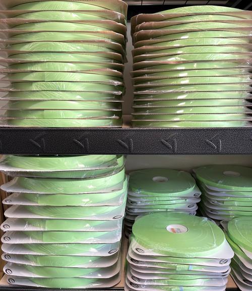 GN529 Pastel Mint Green Biothane  100 foot  Super Heavy Roll