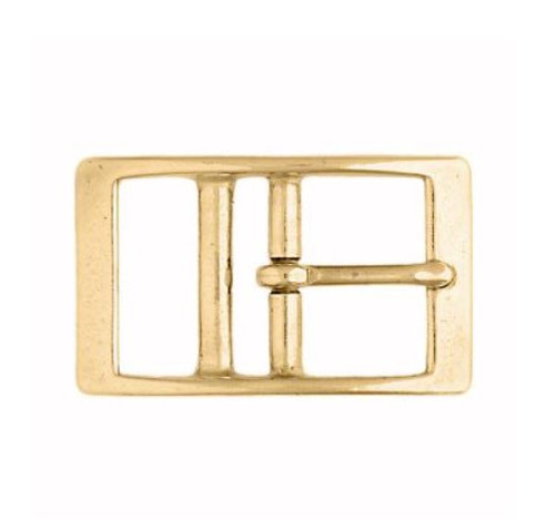 147 Double Bar Solid Brass Buckle