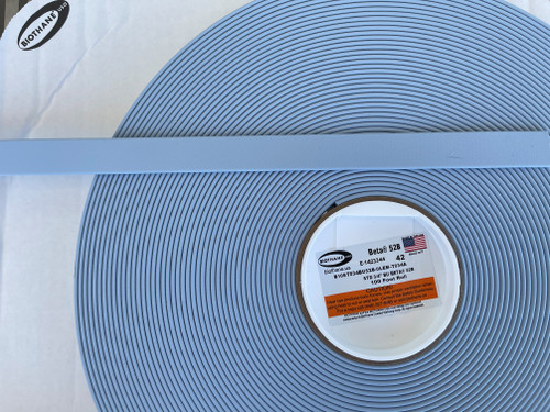 Standard Biothane 100 ft. roll of Pastel Blue BU52B