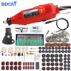 BDCAT 180W Dremel Mini Electric Drill Rotary Tool Variable Speed Polishing Machine with Dremel Tool Accessories Engraving Pen|Electric Drills