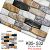 Kaguyahime 3D Self Adhesive Wallpaper Mosaic Tiles Wall Stickers Waterproof Stickers Decoration Wall Panel Kitchen Home Decor|Wall Stickers