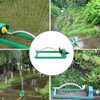 18Holes Swing 120 Degree Garden Lawn Irrigation Tools Plastic Aluminum Tube Garden Lawn Sprinkler 2 Sided Coverage|Garden Sprinklers