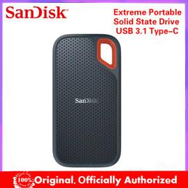 SanDisk Extreme Portable SSD 1TB 500GB 550MB/S External Hard Drive SSD USB 3.1 HD SSD Hard Drive 2TB Solid State Disk for Laptop|External Solid State Drives|