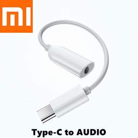 Original Xiaomi USB Type C to AUDIO 3.5mm Earphone Jack AuxAudio Cable Adapter Headphone for mi 9 SE 9T Note 10 A3 K20 K30 Pro|Tablet Chargers|