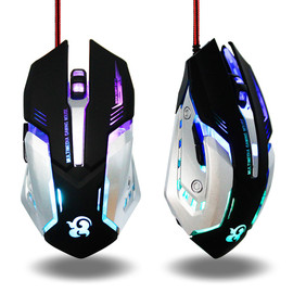 Wired PC Gaming Mouse 6 Button 3200 DPI LED Optical USB Computer Mouse Gamer Mice Game Mouse Silent Miouse for Computer Laptop|Mice