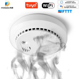 Wifi Carbon Monoxide Detector Co Smoke Sensor Smart Home Security Tuya Smart Life App Alexa Google Home IFTTT|Carbon Monoxide Detectors