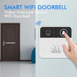 Camera Wireless Doorbell with Camera Security Video Intercom Wifi Door Phone Surveillance Super Mini Digital Door Viewer Bell|Doorbell