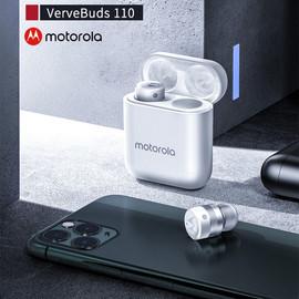 Motorola Vervebuds 110 TWS Bluetooth 5.0 Wireless Earphone Earbuds Mini in ear VB 110 Headphones Headset Touch verve buds 110 Bluetooth Earphones & Headphones