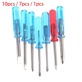 1 or 7 or10PCS Hot New Phillips Slotted Cross Word Head Five pointed Star Mini Screwdrivers For Phone Laptop Repair Open Tools|Screwdriver