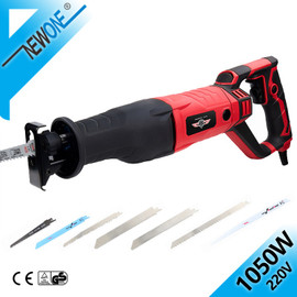 NEWONE 220V Reciprocating saw in Electric Saw Blades 1050W AC Mulit Saber Saw Power Tool For Wood/ Metal Woodworking Cutter|Electric Saws