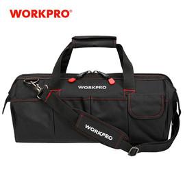 WORKPRO Tool Bags, Portable Waterproof Electrician Bag Multifunction Canvas Tool Organizer for Repair Installation HVAC|bags vacuum storage|bag vietnambag vaccum