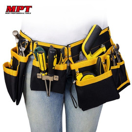 Multi functional Electrician Tools Bag Waist Pouch Belt Storage Holder Organizer Free Ship|Tool Bags