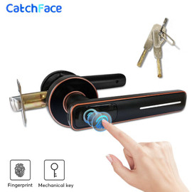 Biometric Fingerprint Door Lock Intelligent Electronic Lock For Home and Office Security With Mechanical key|Electric Lock