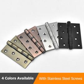 Black Antique 4 inch Hinge Stainless Steel Door Hinge For Heavy Doors Furniture Accessories|Door Hinges
