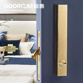 Dooroom Brass Sliding Door Lock Set Handles LOFT Nordic Push Pull Wood Door Interior Living Room Bathroom Balcony Kitchen|Sliding Door Locks