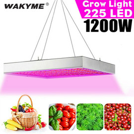 WAKYME 1200W LED Grow Light Full Spectrum LED Plant Light Fitolampy for Indoor Plants Seed Flowers Seedling Cultivation Lamp|LED Grow Lights