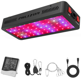 Phlizon 600w led grow light Full Spectrum Red Blue UV indoor flower Led Growing Lamps For grow tent box Hydroponics system|LED Grow Lights