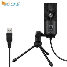 Recording Microphone USB Socket suit for Computer Windows laptop High Sensitivity for Instrument Game Video Recording K669B|Microphones