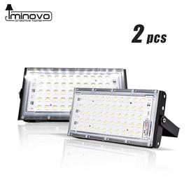 2pcs LED Flood Light 50W Outdoor Wall Reflector Lamp Street Garden Floodlight Waterproof IP65 Spotlight Lighting AC 220V 240V|Floodlights