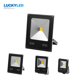 LUCKYLED Led Floodlight 10W 20W 30W 50W AC220V 240V Led Reflector Waterproof IP65 Flood light Garden Spotlight Outdoor Wall Lamp|Floodlights