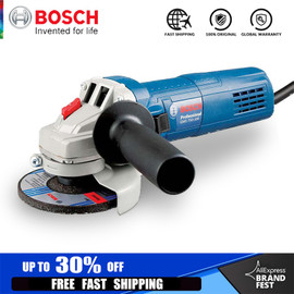 BOSCH Angle Grinder Single Speed 115000 RPM Multi functional Sanding Maching Electric Angle Grinder 220V 50Hz Cut Off Tool|Grinders
