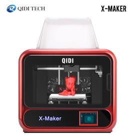 QIDI 3D Printer x maker Educational Grade Impresora 3D Drucker High Precision Print size 170mm*150mm*160mm with ABS,PLA,Flexible|3D Printers