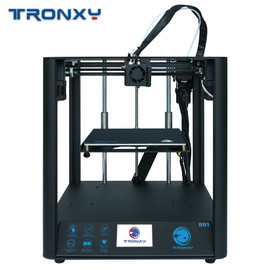 2020 Newest Fast Assembly 3D Printer TRONXY D01 with Industrial Linear Guide and Titan Extruder Optional Enclosure acrylic board|3D Printers