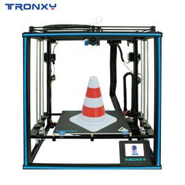 Tronxy Hot 3D Printer X5SA 2E Double Feeding Port One Extrusion Head Full Aluminium Frame Kit Big Printing Size 330*330*400mm|3D Printers