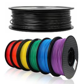 EasyThreed 250g 1.75mm 3D Printer PLA Filament Printing Materials 3D Plastic Printing Material Extruder Pen Accessories 6 Colors|3D Printing Materials