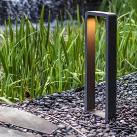 LTOON Outdoor LED modern waterproof lawn light Outdoor hotel square villa garden landscape path courtyard|Path Lights