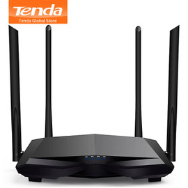 Tenda New AC6 2.4G/5.0GHz Smart Dual Band AC1200 Wireless WiFi Router Wi Fi Repeater, APP Remote Manage, English Interface|wi-fi repeater|gigabit wirelesswireless wifi router